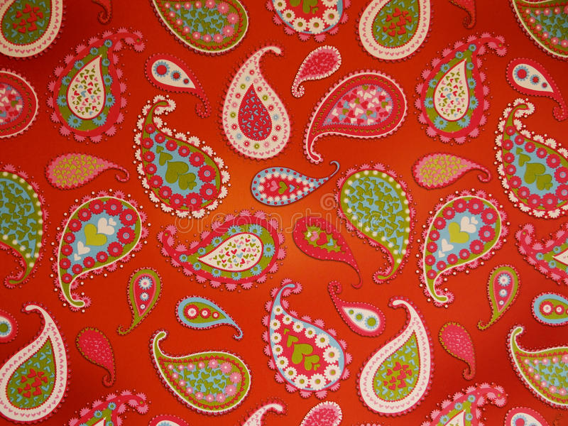 Download Paisley wallpaper stock photo. Image of levendig, patroon - 24430402