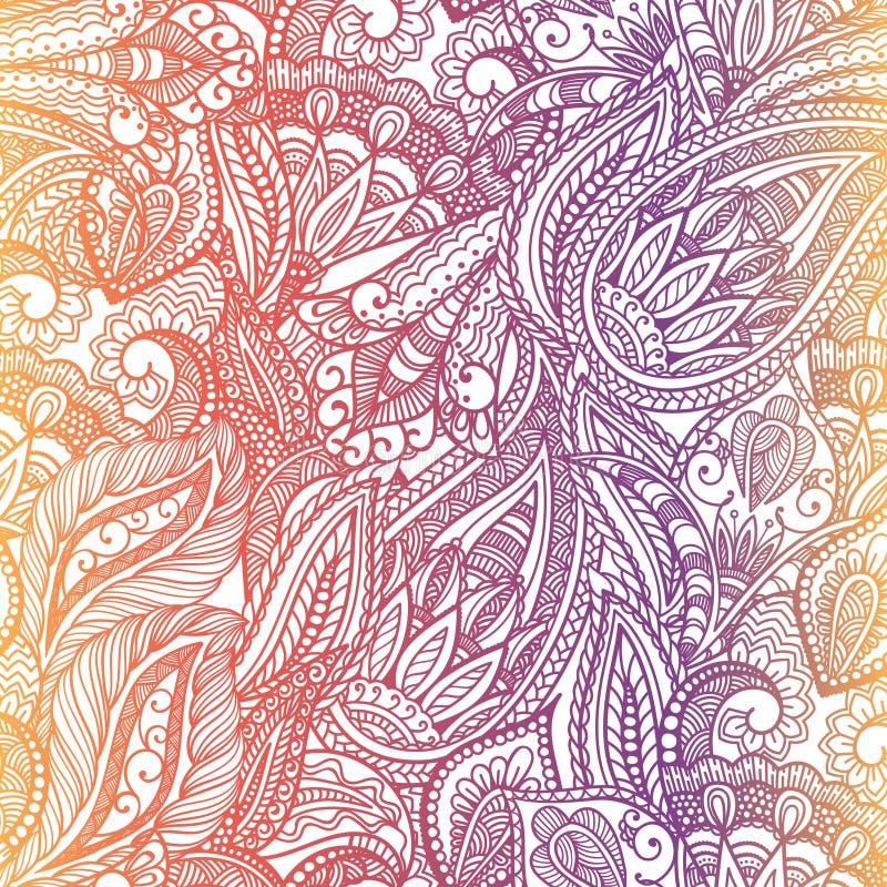 Paisley wzór ilustracji