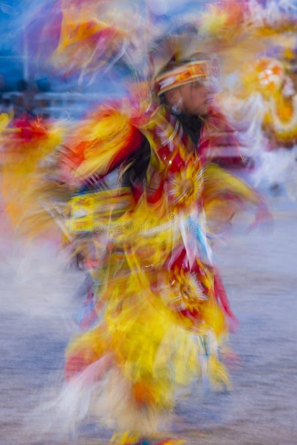 Paiute plemienia Pow no! no! fotografia stock