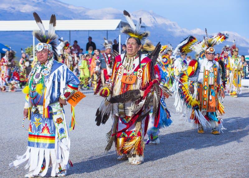 Paiute plemienia Pow no! no! fotografia royalty free