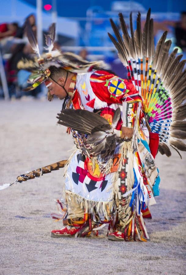 Paiute plemienia Pow no! no! zdjęcia royalty free