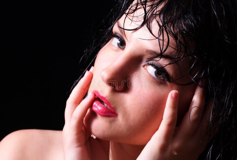 Download Paixão imagem de stock. Imagem de cabelo, paixão, fêmea - 10054211