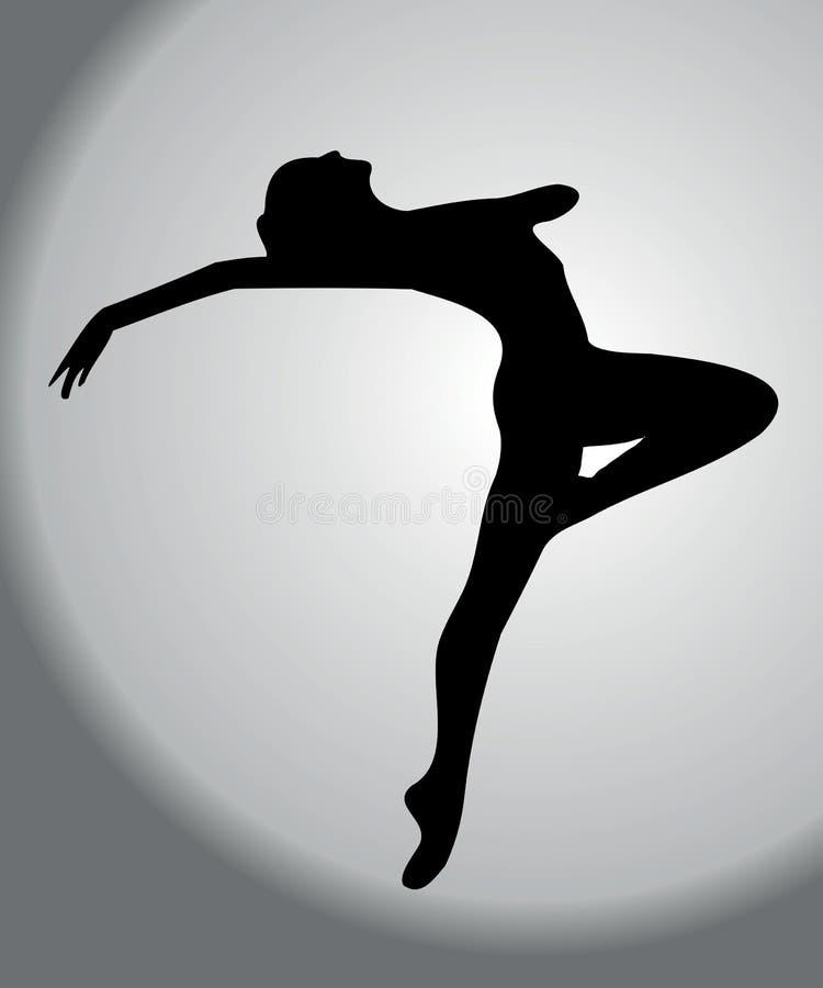 Paixão da dança ilustração stock
