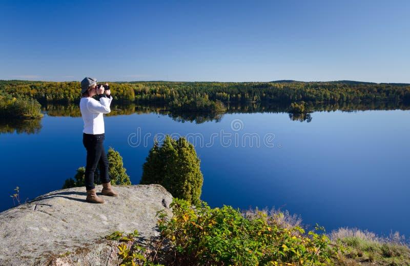Paixão da fotografia foto de stock