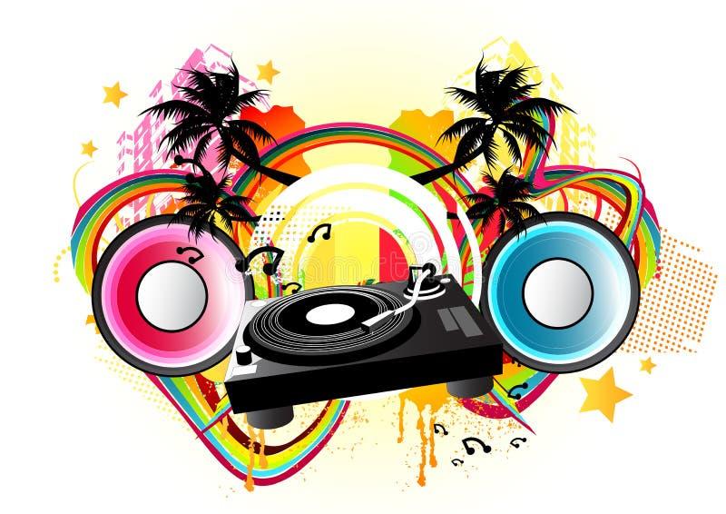 Paixão da música! ilustração royalty free