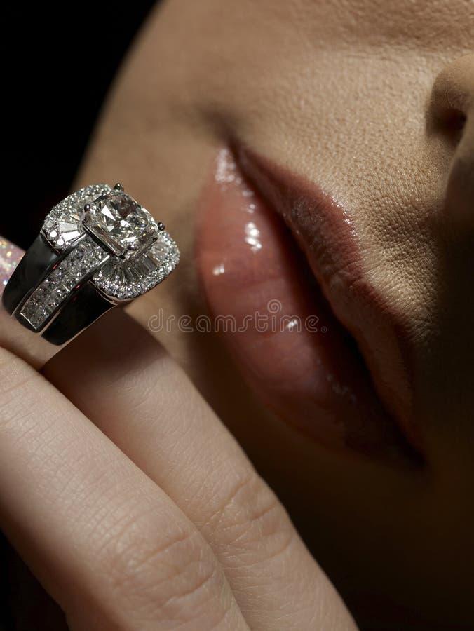 Paixão do diamante imagem de stock royalty free