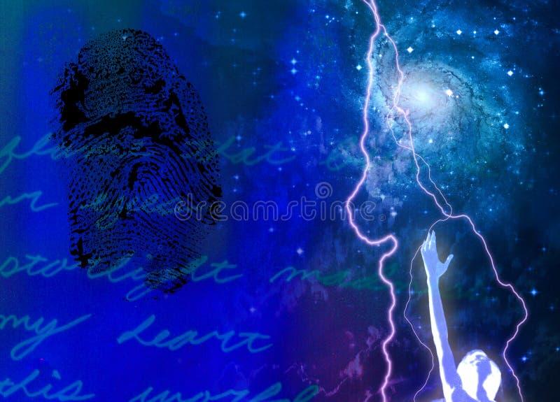 Paixão espiritual ilustração stock