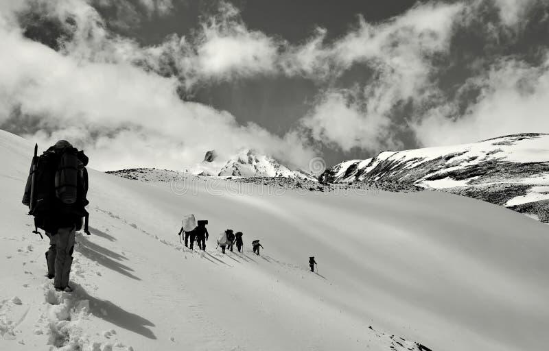 Paix à la haute altitude images stock