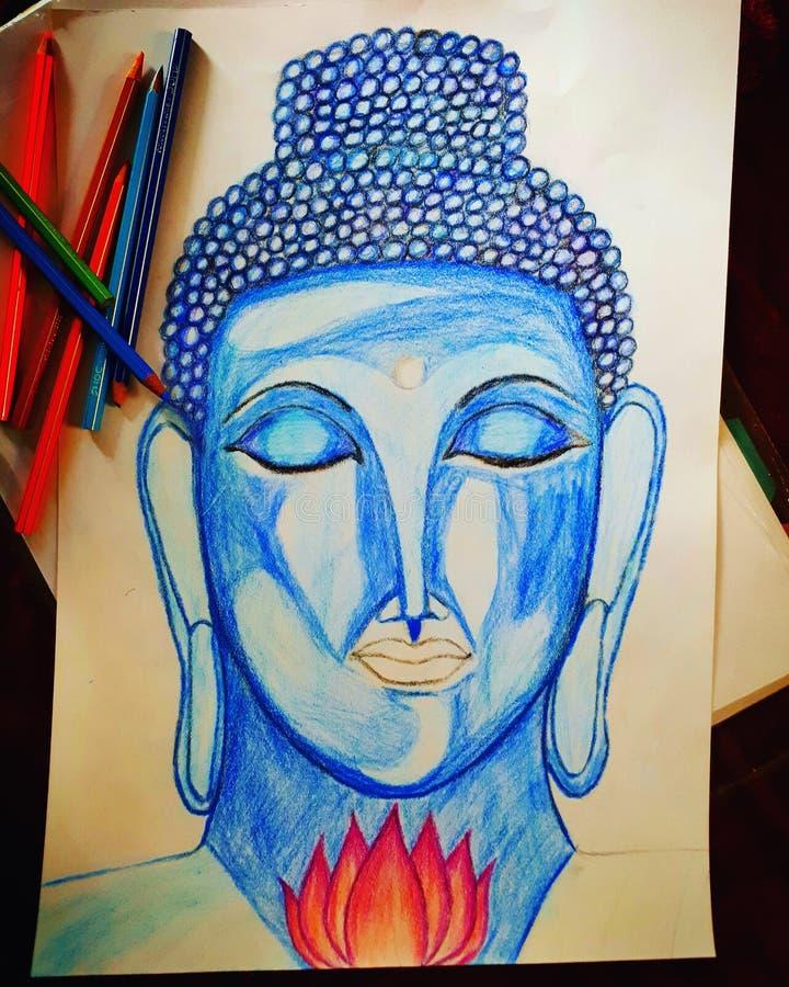 Paix de Bouddha photos stock