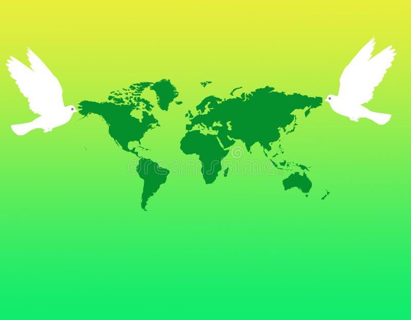 Paix du monde illustration libre de droits