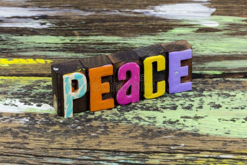Paix harmonie monde paix liberté zen yoga foi espoir amour image libre de droits