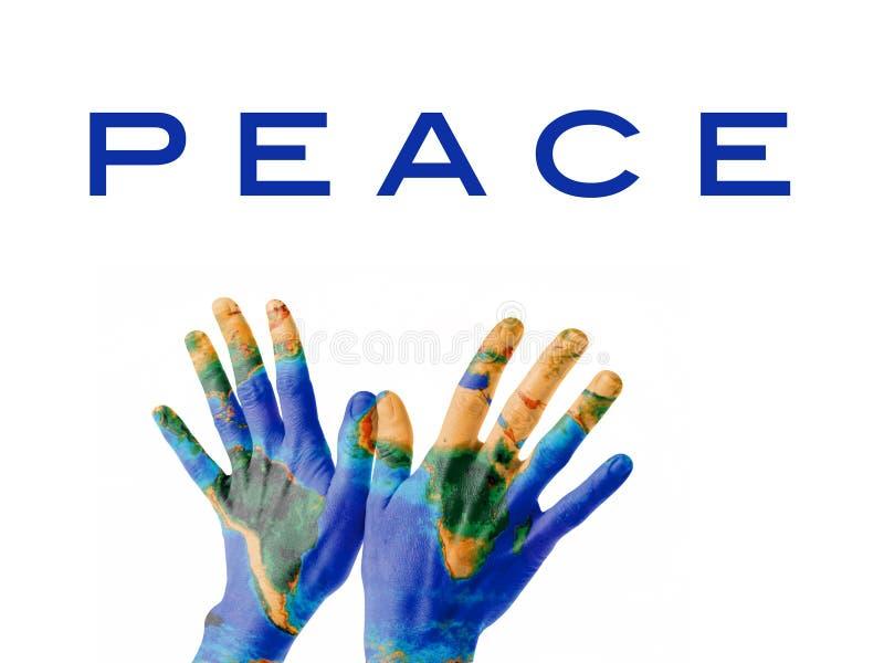 Paix sur terre. images stock