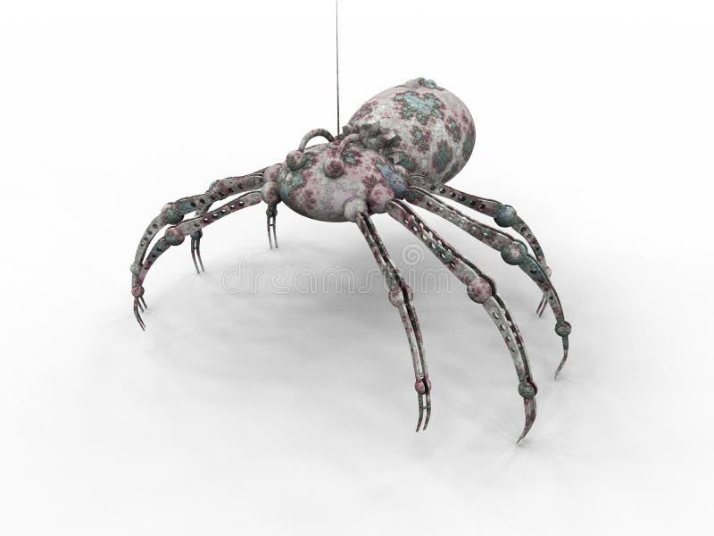 pająk nadludzką ilustracja wektor