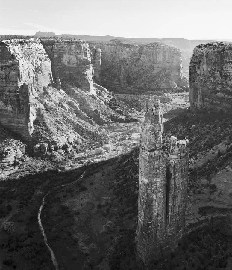 Pająk skała, Jar De Chelly, Arizona obrazy stock