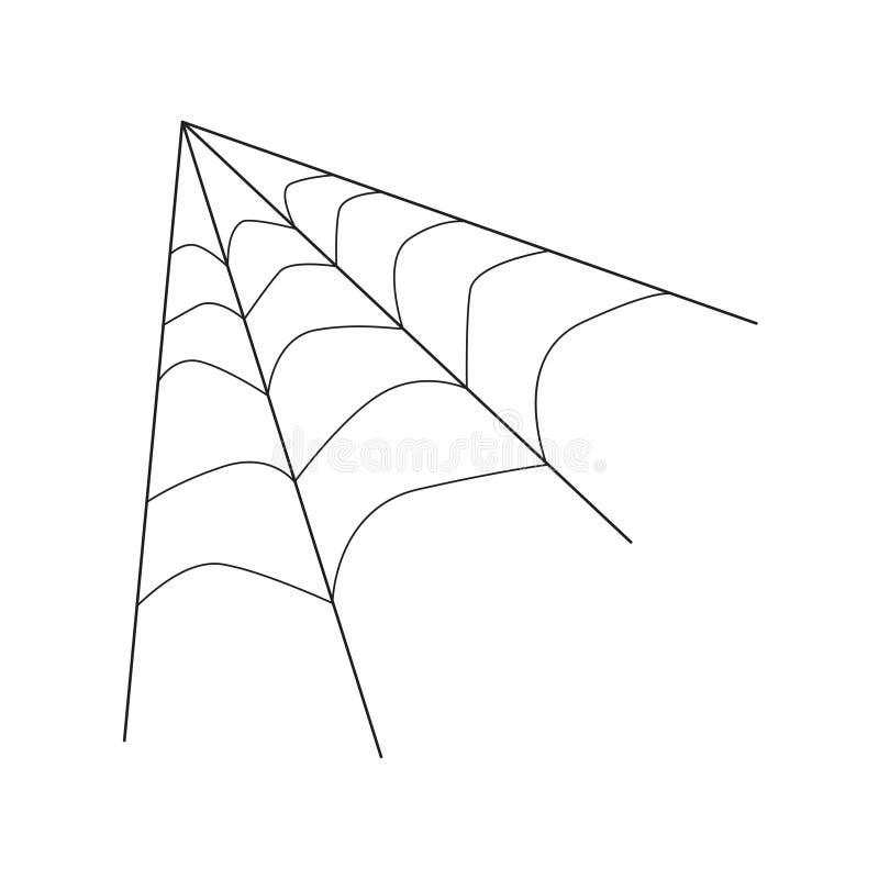 Pajęczyny ikona ilustracji