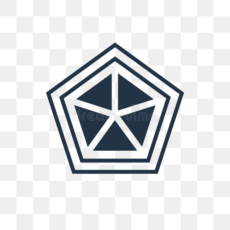 Pajęczyny wektorowa ikona odizolowywająca na przejrzystym tle, pajęczyna t ilustracja wektor