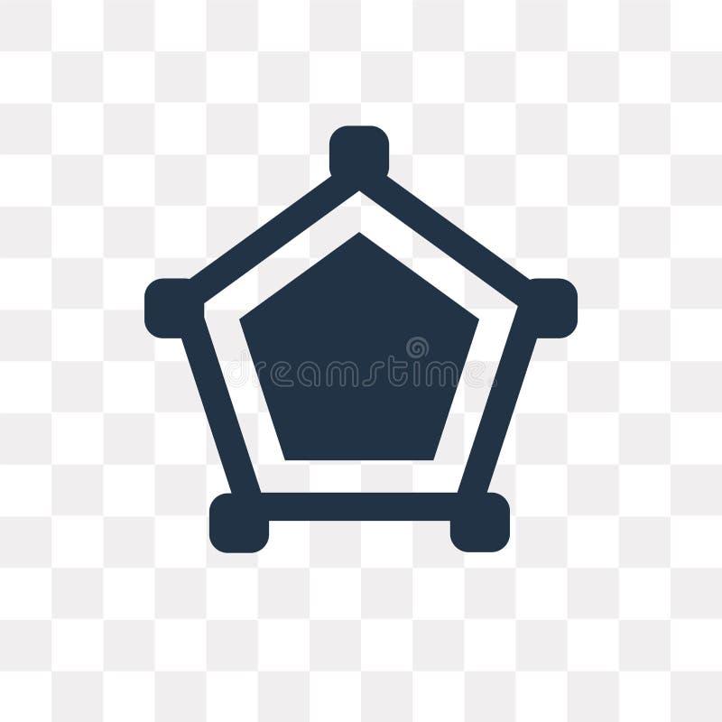 Pajęczyny wektorowa ikona odizolowywająca na przejrzystym tle, pajęczyna t royalty ilustracja
