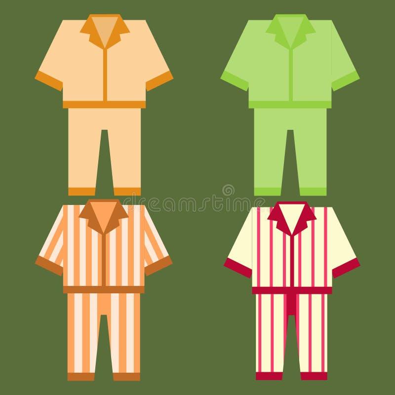 Pajamas icon royalty free illustration