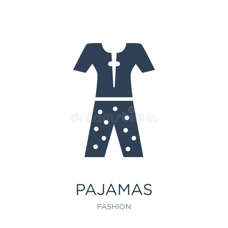 pajamas icon in trendy design style. pajamas icon isolated on white background. pajamas vector icon simple and modern flat symbol stock illustration
