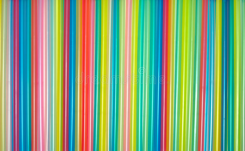 Pajas de beber coloridas imagen de archivo libre de regalías