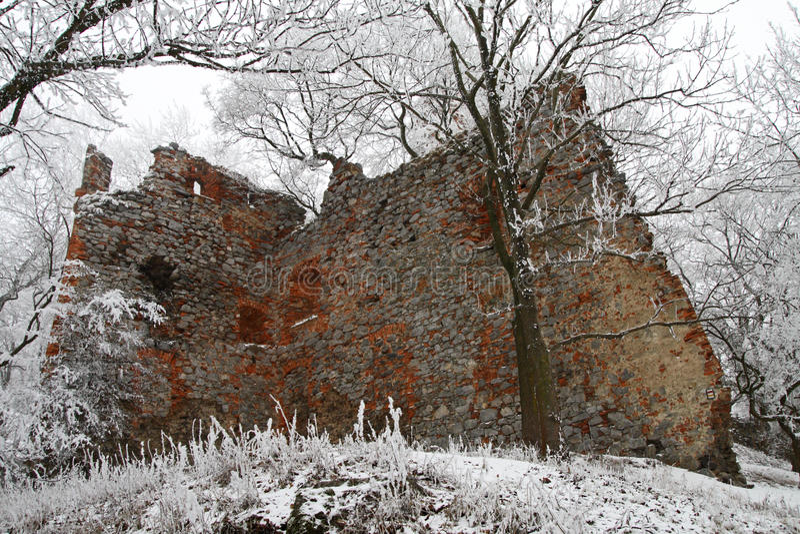 Pajstun - inverno fotografie stock