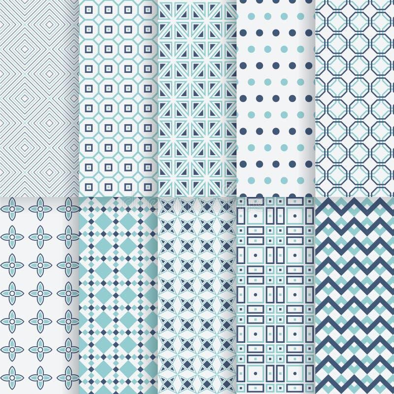 Pak decoratieve vectorpatronen vector illustratie