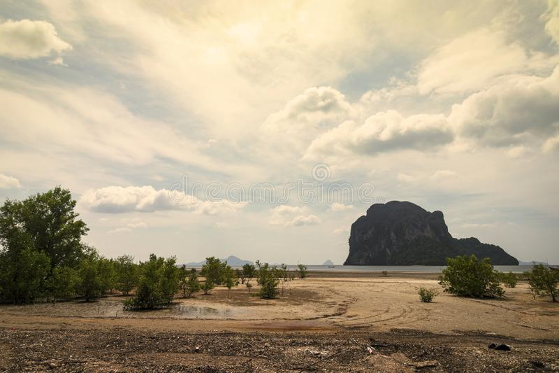 Pak Meng Beach, Chao Mai Beach National Park, Trang, Thailand. Pak Meng Beach stock photography