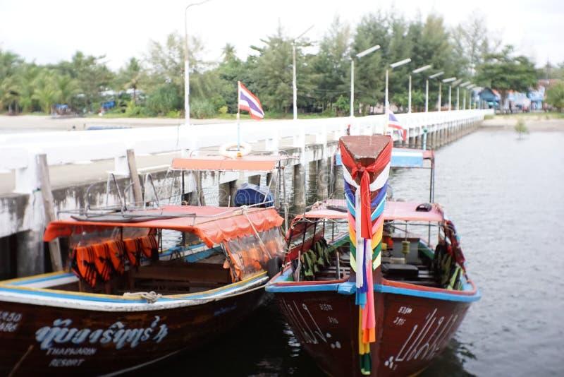 Pak Meng Pier arkivbilder