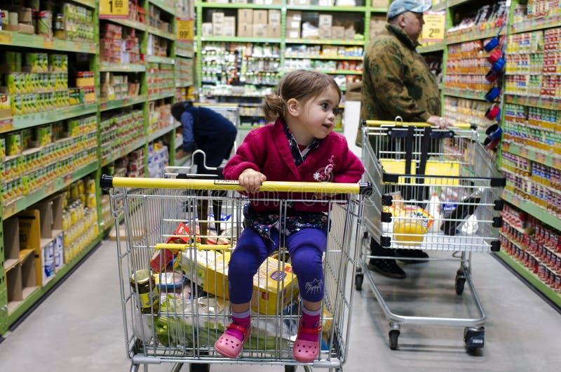PAK'nSAVEsupermarkt royalty-vrije stock foto