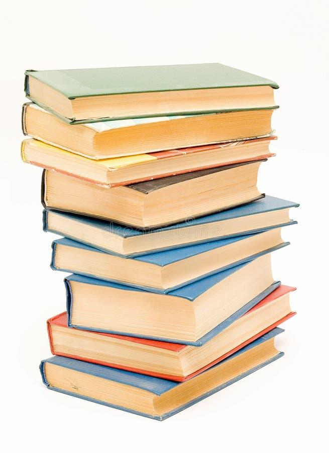 Pak oude boeken stock foto