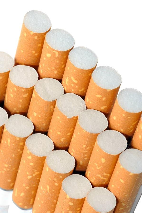 Pak sigaretten stock afbeelding