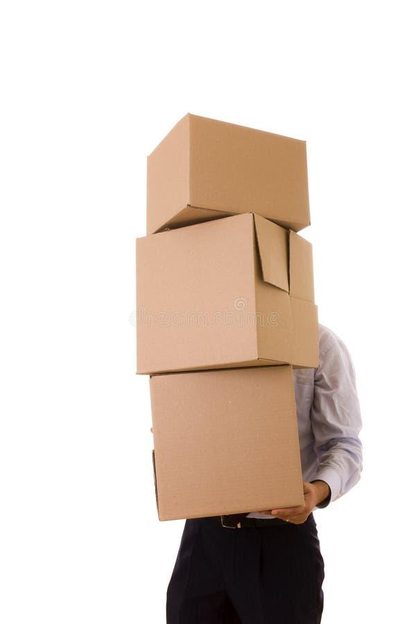 pakage打包堆 免版税库存图片
