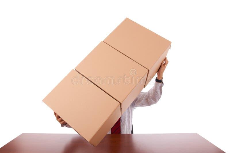 Paketservice lizenzfreie stockbilder