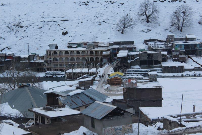 Pakhtunkhwa Pakistan de khyber de ville de Kalam images libres de droits