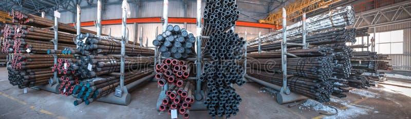 Pakhuisbuizenstelsel Industrie van de olie en van het Gas stock foto