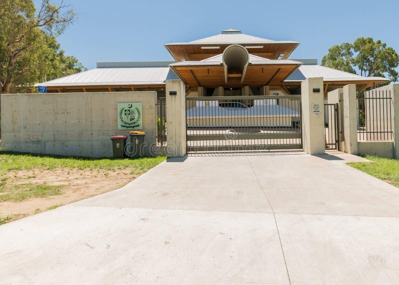 Pakistan-Botschaft Canberra stockbild