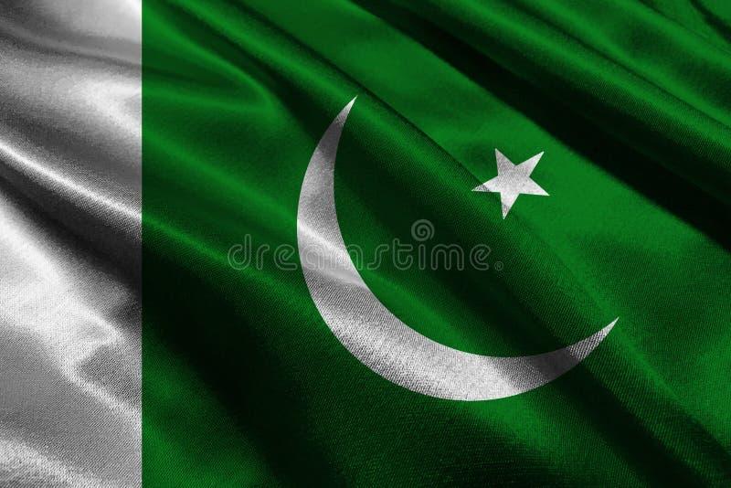 Pakistan flag ,3D Pakistan national flag 3D illustration symbol vector illustration