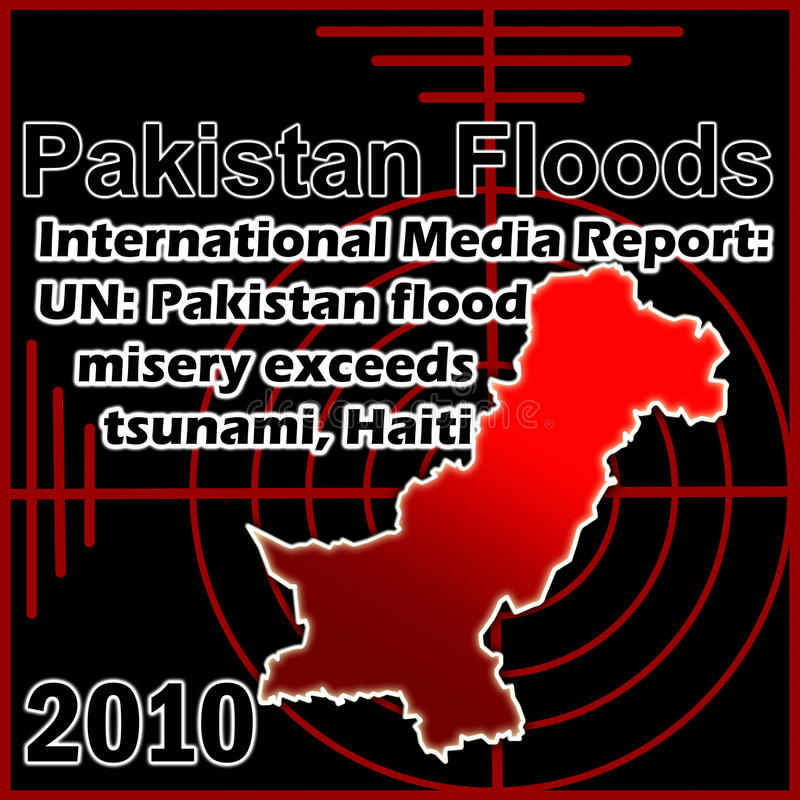 Pakistan Floods Editorial Stock Photo