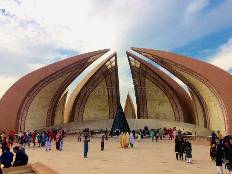Pakistan monument arkivfoto