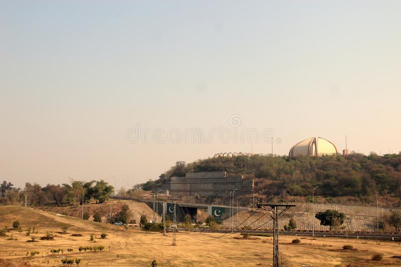 Pakistan-Monument Islamabad stockbild