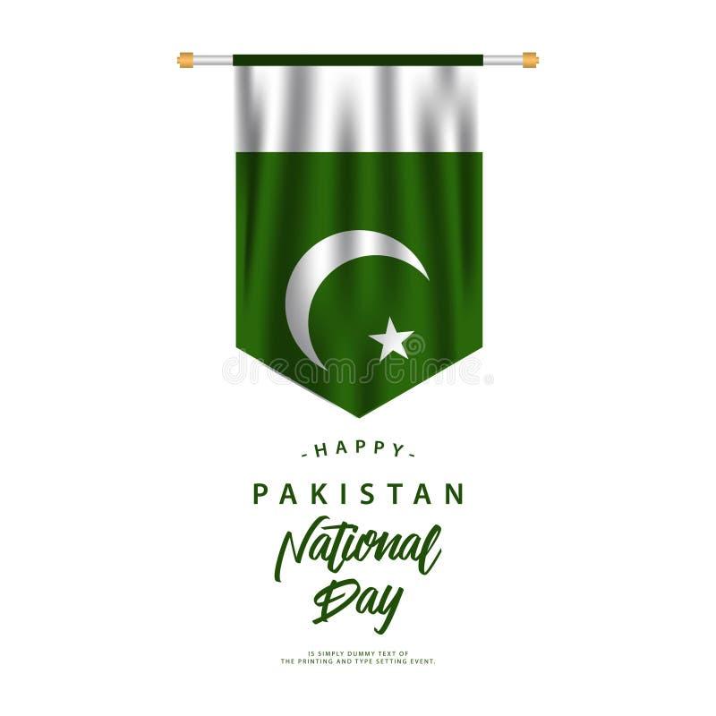 Pakistan National Day Vector Design Illustration vector illustration
