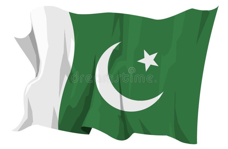 Pakistan podaje serii royalty ilustracja