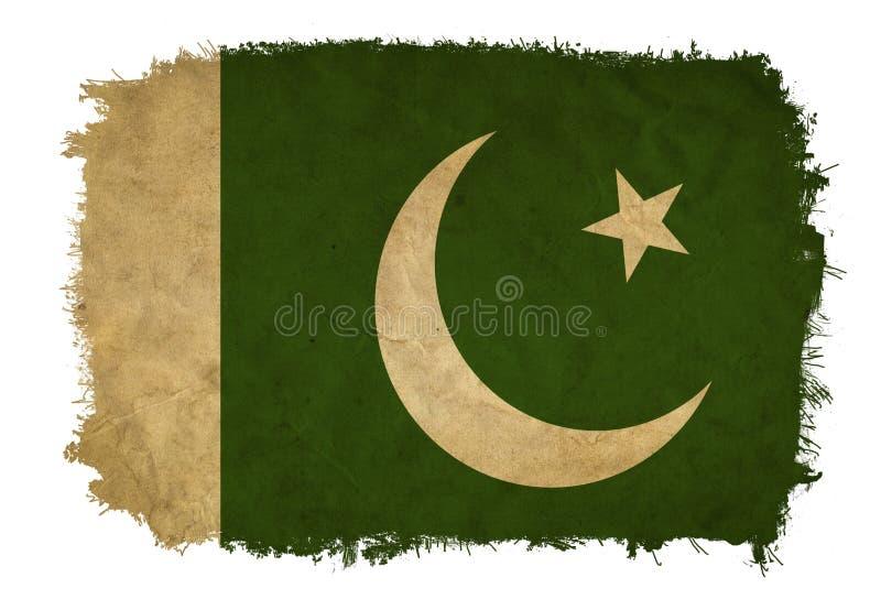 Pakistan-Schmutzflagge lizenzfreies stockfoto