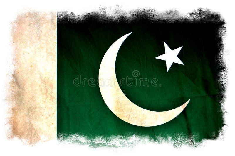 Pakistan-Schmutzflagge lizenzfreie stockfotos