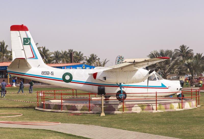 Pakistan siły powietrzne muzeum w Karachi obraz stock