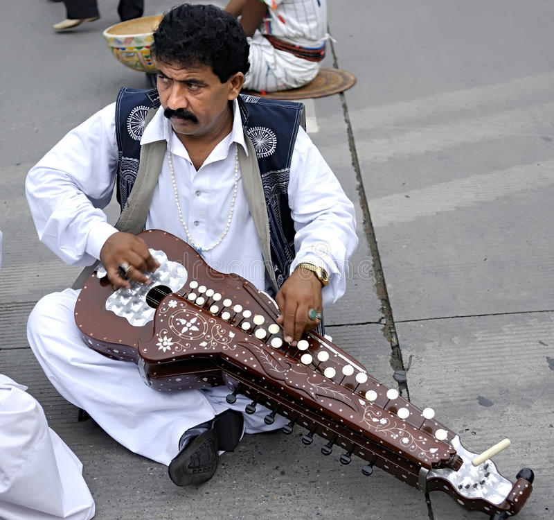 Download Pakistani performer editorial photo. Image of instruments - 14049446