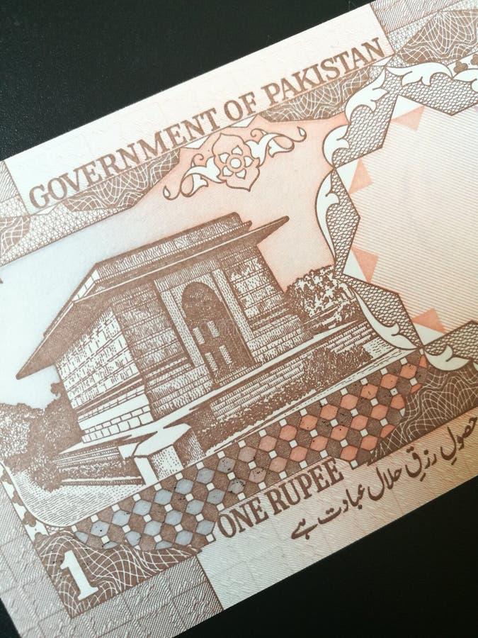 Pakistani rupee banknote stock photos