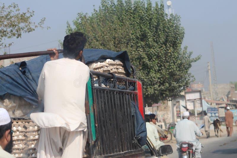 Pakistani Street Life royalty free stock photos
