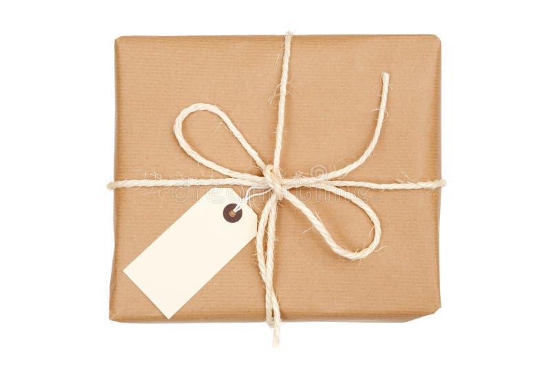 Pakket dat met Koord wordt gebonden royalty-vrije stock fotografie
