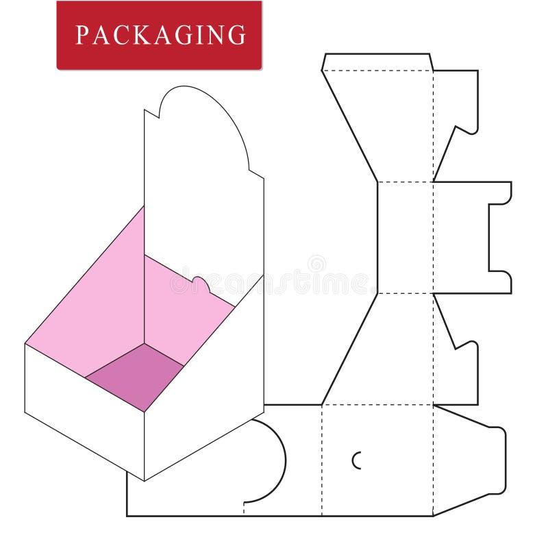 Pakket op PoP pakket stock illustratie